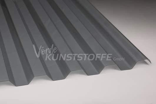 Polycarbonat Lichtplatten 76/18 silber metallic