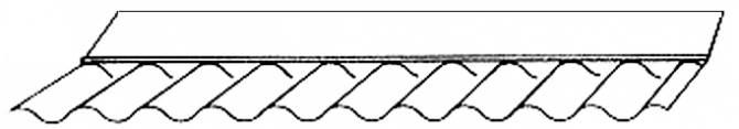 Maueranschluss Acrylglas 76/18