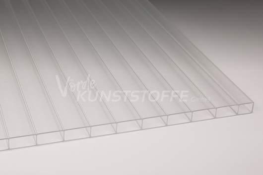 Hohlkammerplatten Acrylglas 16/32 Innenstruktur farblos 16mm