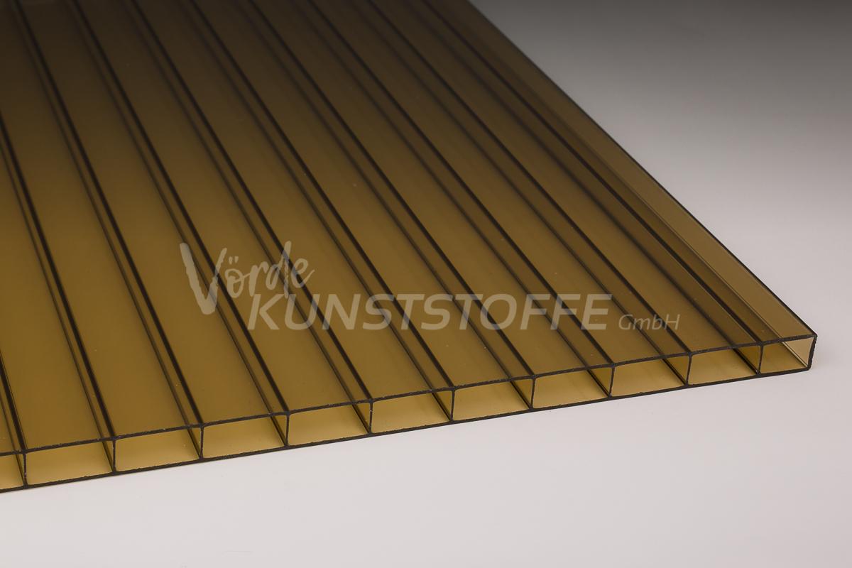stegplatten hohlkammerplatten 16 32 bronze 16mm kaufen v rde kunststoffe. Black Bedroom Furniture Sets. Home Design Ideas