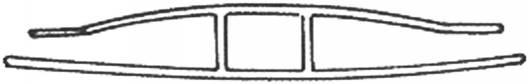 H-Profil aus Polycarbonat für 16mm Hohlkammerplatten