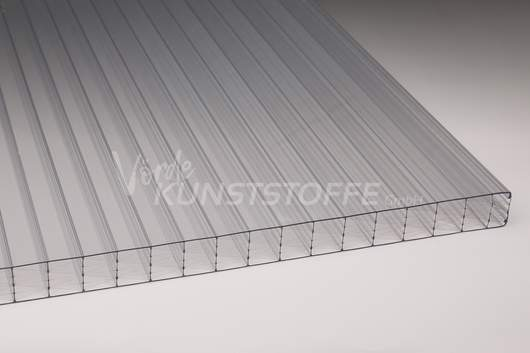 Hohlkammerplatten 25mm Polycarbonat farblos Wintergartenplatte