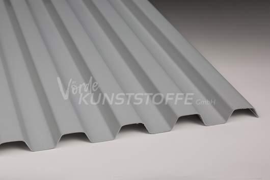 Sollux® Trapezlichtplatten 70/18 opak-grau