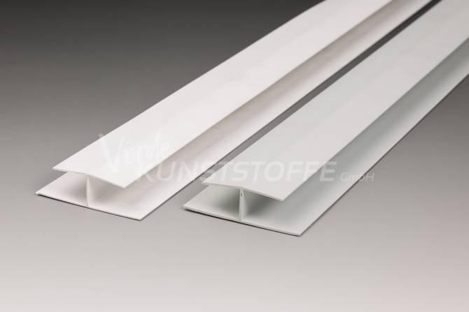 H-Profil für Paneel 16/200 grau