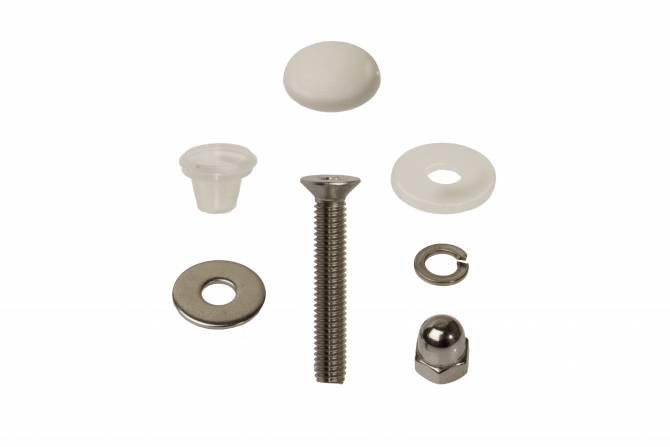 Montagesatz Balkonschrauben für Kronoplan KronoART HPL-Platten