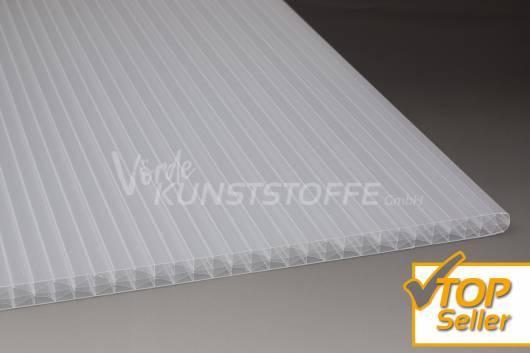 X-Struktur Hohlkammerplatten weiss-opal 16mm