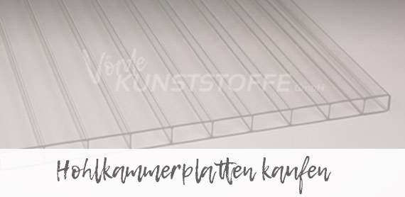 Hohlkammerplatten online kaufen bei Vörde Kunststoffe für Salzburg