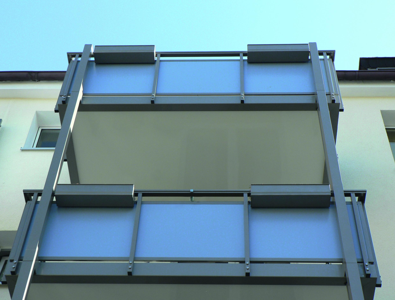 Die Plattenstarke Fur Die Balkonverkleidung Aus Hpl Vorde