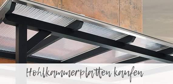 Hohlkammerplatten Komplettset kaufen für Innsbruck