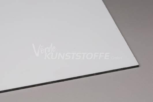Alu-Verbundplatten weiß matt/matt 4mm