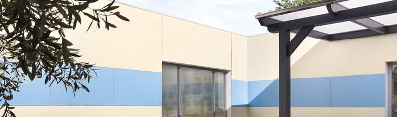 Schnell und günstig zur neuen Fassade - HPL Fassadenplatten online