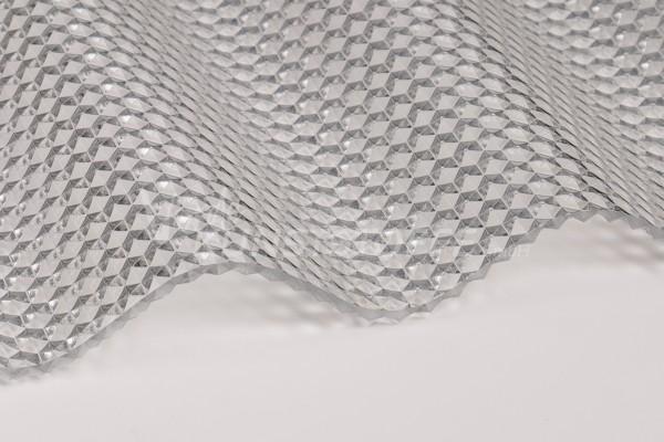 Acryl-PC-Wabe-klar-Detail