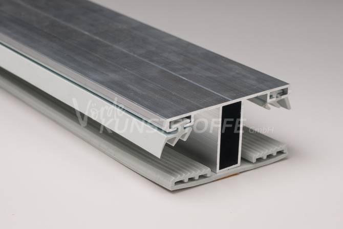 Alu-Stegmittelsystem für 16mm Hohlkammerplatten
