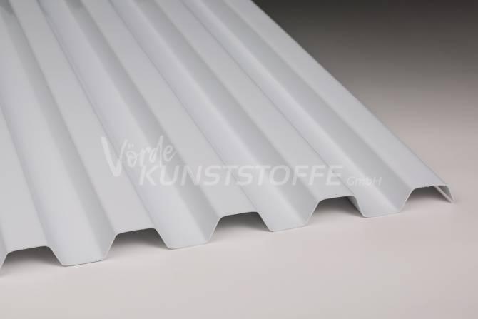 Sollux® Trapezlichtplatten 70/18 opak-weiss