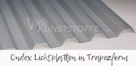 Ondex Lichtplatten in Trapezform online kaufen