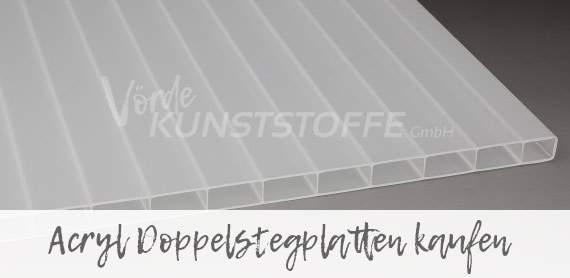 Doppelstegplatten aus Acrylglas bestellen