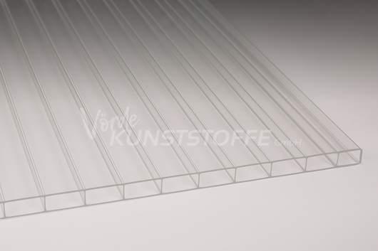Hohlkammerplatten Acrylglas 16/32 farblos 16mm