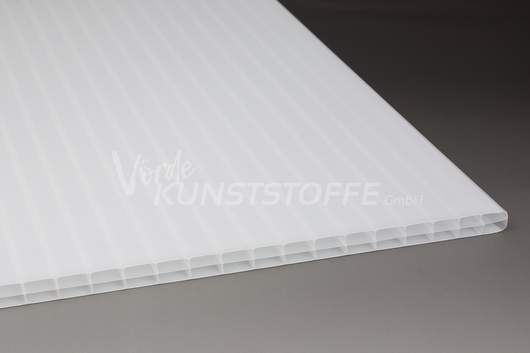 Hohlkammerplatten 3-Fach weiss-opal 16mm