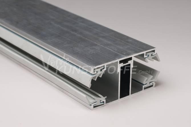Alu-Verbindungskomplettsystem für 16mm Hohlkammerplatten
